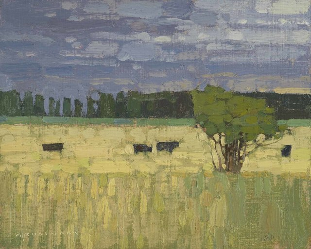 , 'Pasture With Gathering Storm,' 2018, Jonathan Cooper