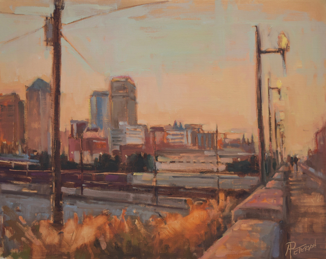 , 'Magic City Rails,' , Beverly McNeil Gallery