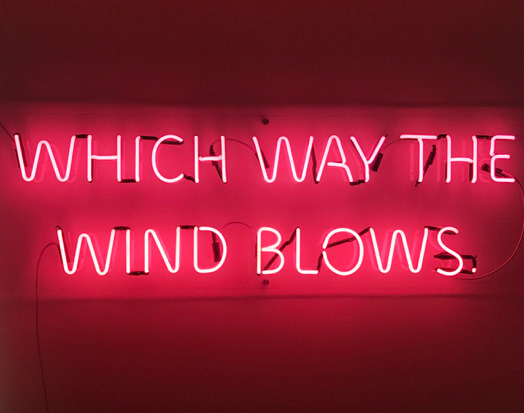 , 'Which Way the Wind Blows,' 2017, Imitate Modern