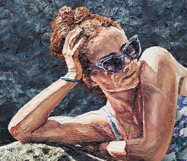 , 'Ava in Sunglasses,' 2017, Depart Foundation