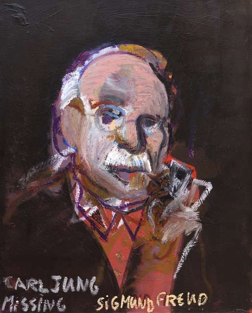 , 'Carl Jung Missing Sigmund Freud,' 2015, Zemack Contemporary Art