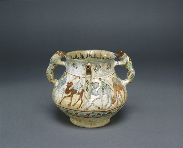 Unknown Artist, 'Painted Pot', 11th Century, Penn Museum