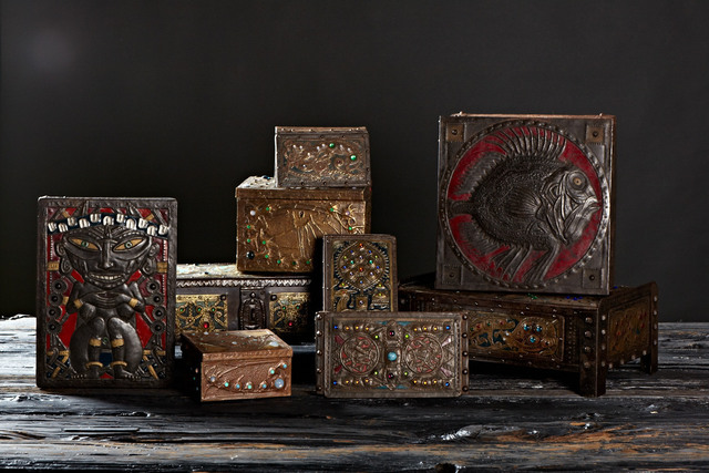 , 'Group Shot of Alfred Daguet Boxes,' 1895-1905, Jason Jacques Gallery