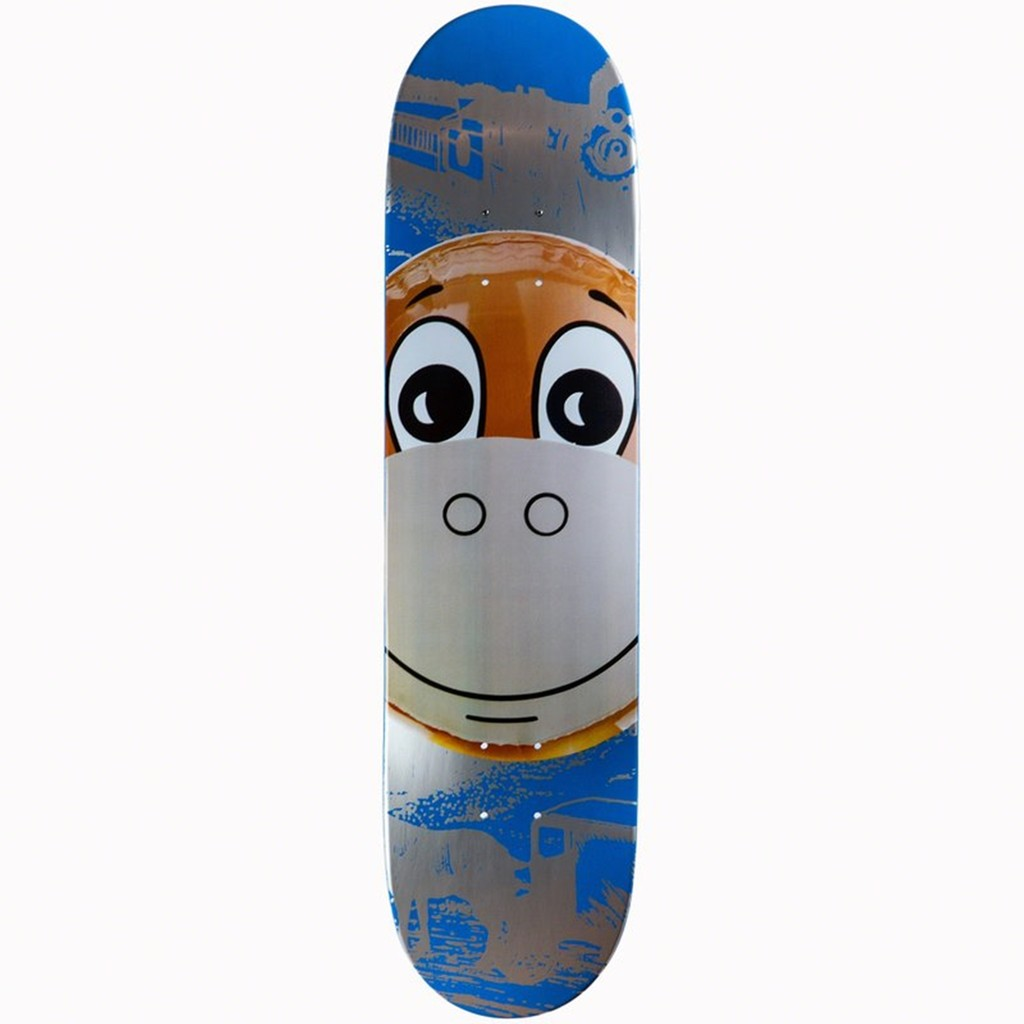 Jeff Koons Blue Monkey Limited Edition Vintage Skate Deck 2006