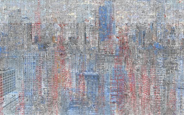 , 'Grid Cells 1/8,' 2015, GALERÍA ETHRA