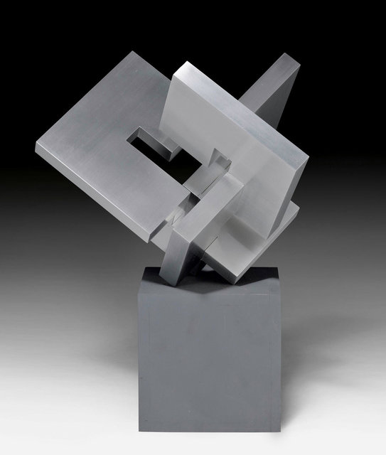 Carlo L. Vivarelli, '3-part cube from 15 pieces', 1967/68, Sculpture, Aluminium cast, Koller Auctions