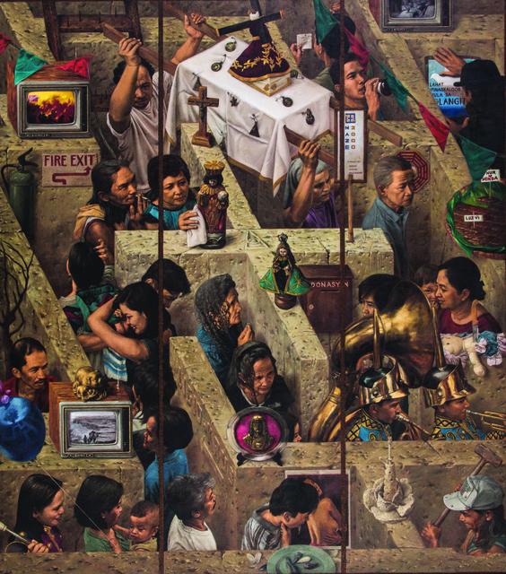 , 'Daang Ligid Krus,' 1996, Ayala Museum