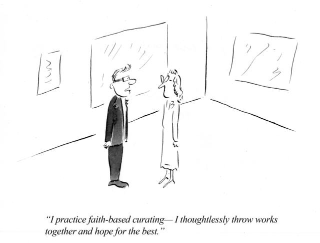 , 'Artoons: Faith-Based Curating,' , Kent Fine Art