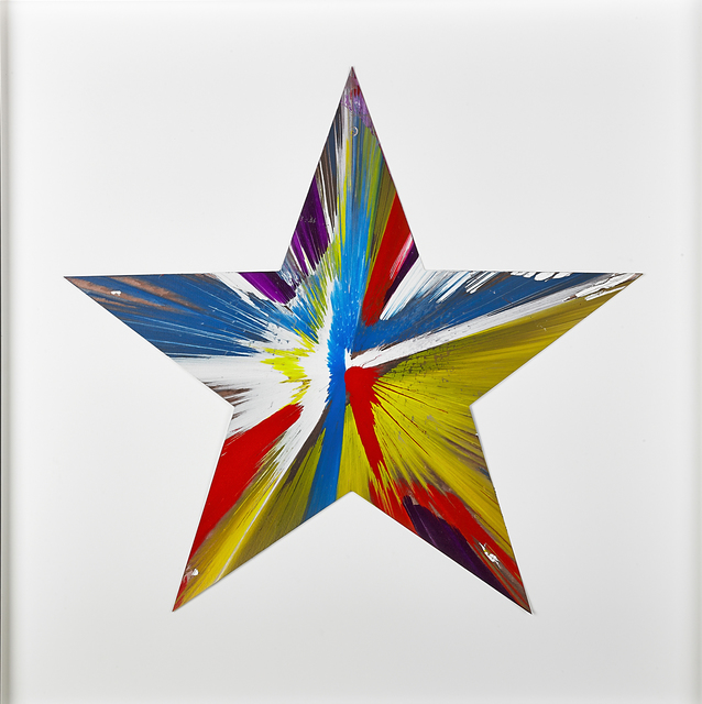, 'Star Spin Painting,' 2009, Opera Gallery
