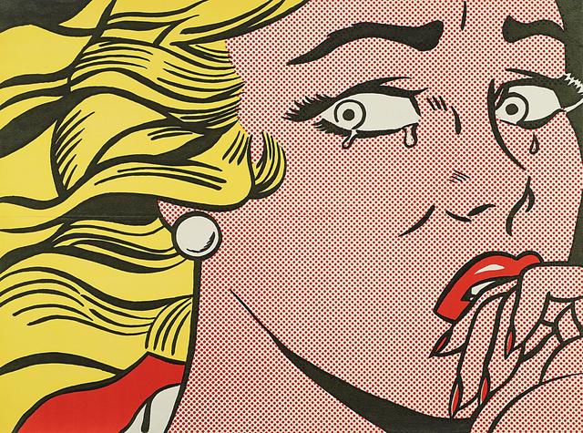 Roy Lichtenstein, 'Crying Girl', 1963, Rago