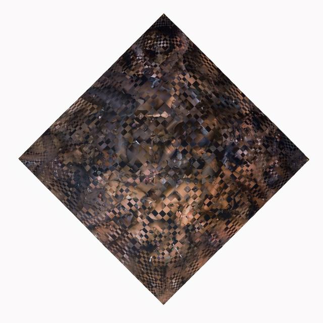 , 'Skin On Skin Black Mixed No.9,' 2018, 10 Chancery Lane Gallery