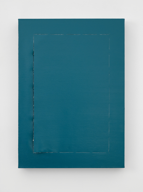 , 'Peel (Turquoise),' 2018, Lisson Gallery