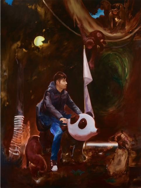 , 'Genre Painting Study 10 - Surrender,' 2019, Edouard Malingue Gallery