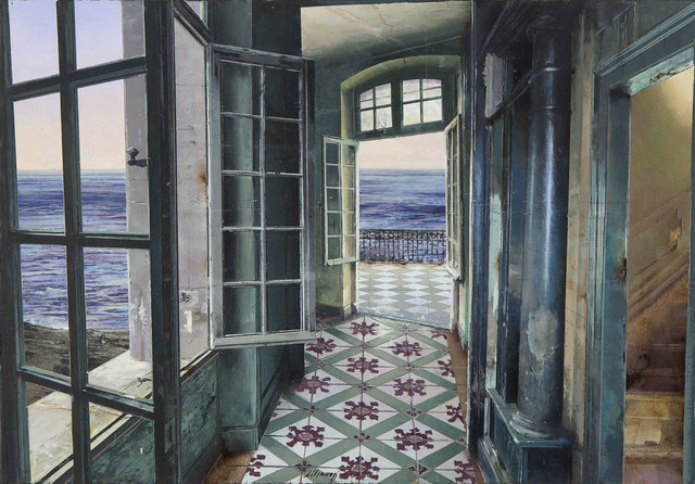, 'La casa del faro,' 2018, Pontone Gallery
