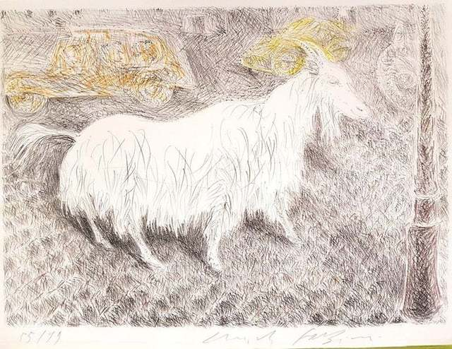 Pericle Fazzini, 'The Goat ', 1971, Wallector