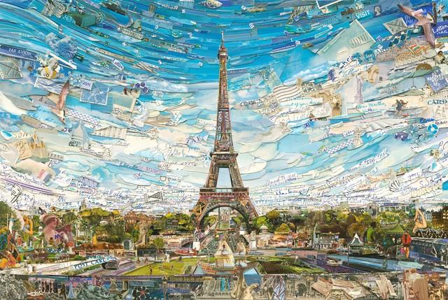 Vik Muniz, 'Eiffel Tower', 2015, galerie nichido / nca | nichido contemporary art