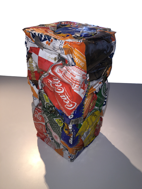 , 'Compression de canettes,' 1988-1990, Bugno Art Gallery
