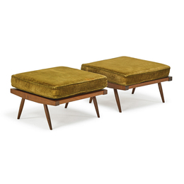 Pair Of Ottomans, New Hope, PA
