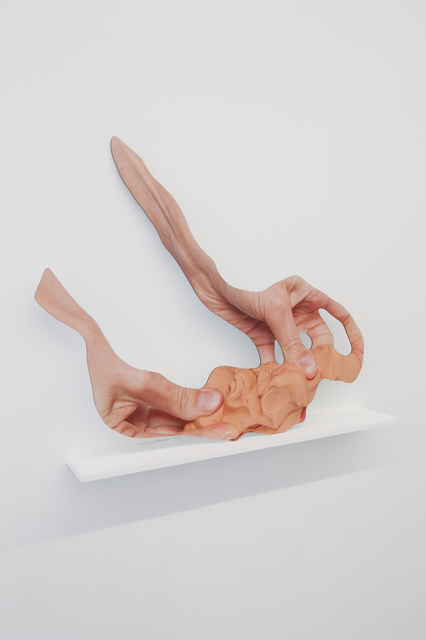 , 'Across Fingers Clay,' 2015, CINNNAMON