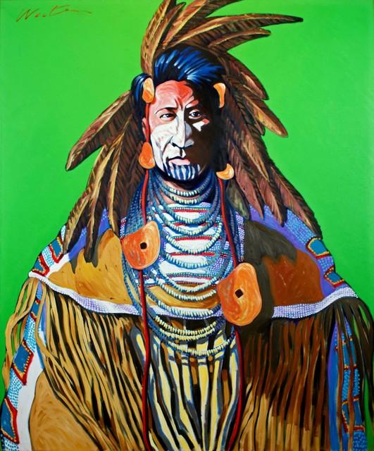 Walt Wooten, 'Chief with Shells', Larsen Gallery