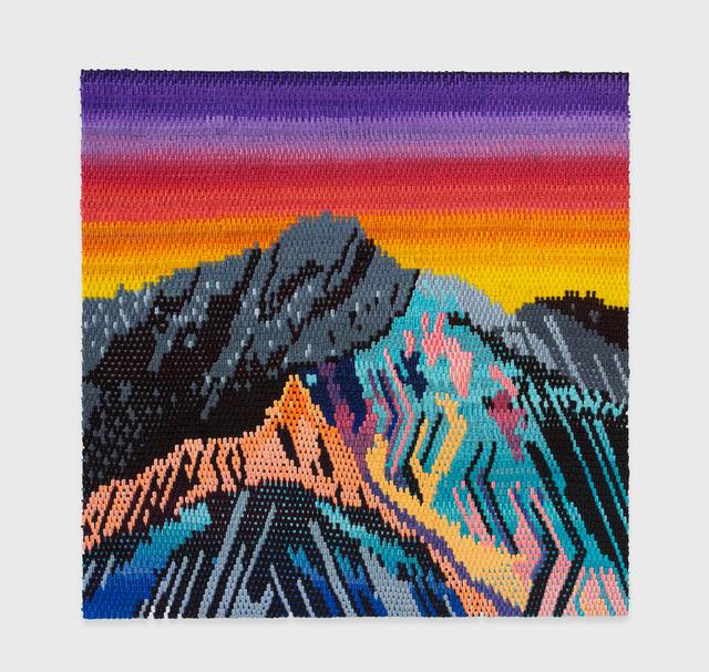 , 'Neon Sunset,' 2016, The Hole