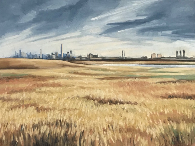 Katie Weiss, 'Field and City', 2019, Prince Street Gallery