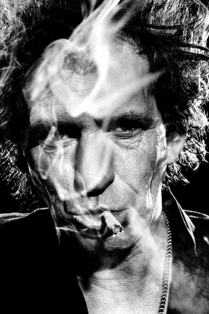 Stephanie Pfriender Stylander, 'Keith Richards, The Third Eye', 1994, Photography, Archival Pigment Print, Staley-Wise Gallery