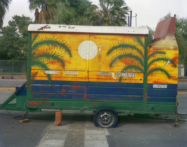, 'Carrito Decorated with Palm Trees, Costanera, Parana, Entre Rios Province, Argentina,' 2012, Robert Klein Gallery