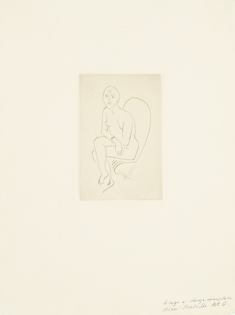 Henri Matisse, 'Nu au bracelet', 1913-1914, Bernard Jacobson Gallery