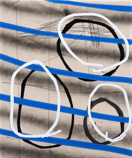 , 'Drawn Line,' 2018, Moskowitz Bayse