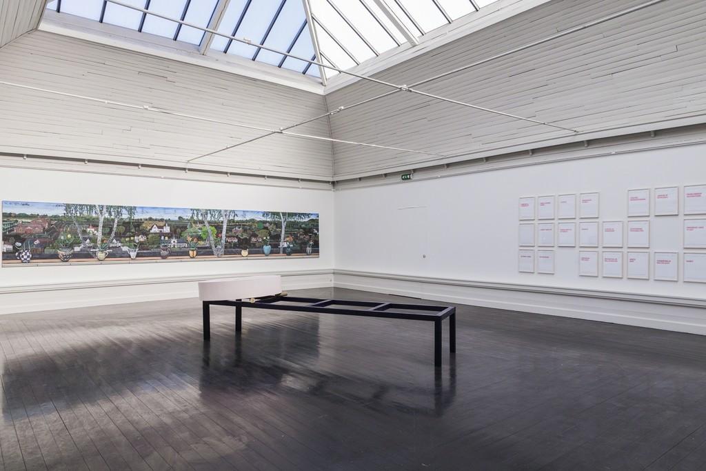 Den Frie Udstilling 2017, installation photo, 2017. Photo: Lior Zilberstein.