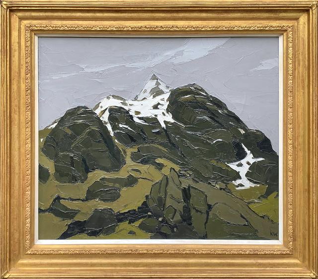 Kyffin Williams, 'Snowdonia Peaks', 20th Century, Painting, Oil on canvas, Haynes Fine Art