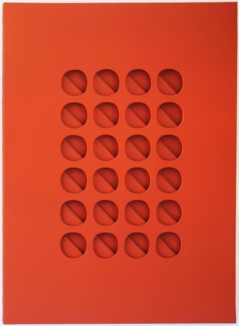 , 'Intersuperficie curva dal rosso,' 1965, Robilant + Voena