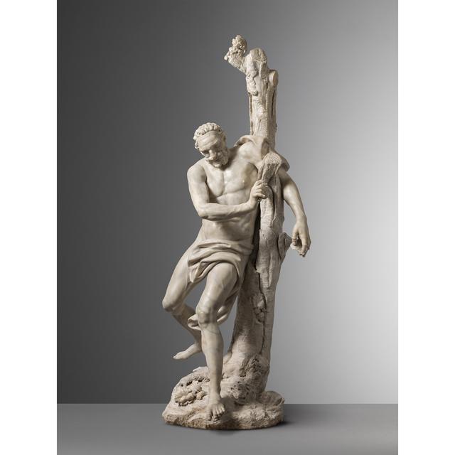 , 'Milo of Croton,' 1740, Carlo Orsi - Trinity Fine Art