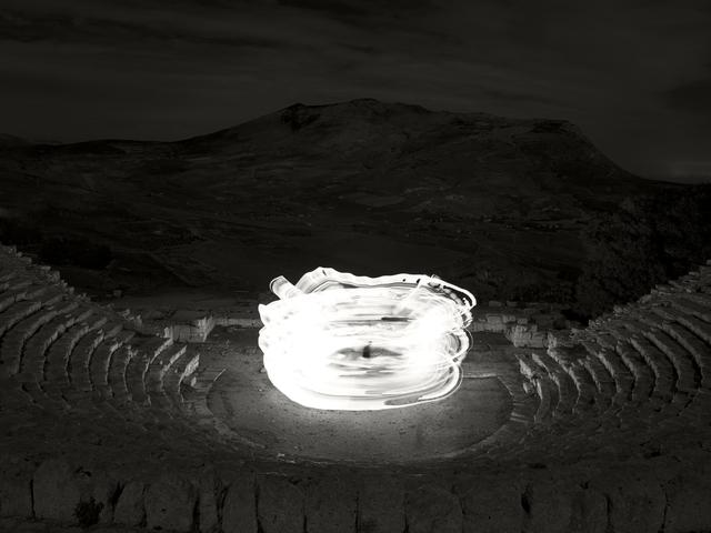 , 'Nightscapes - Theatre of Segesta #2,' 2018, Burning Giraffe Art Gallery