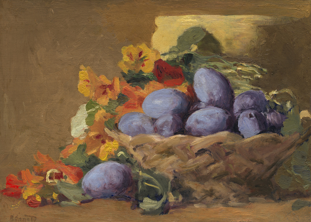 , 'Red Plums,' 1892, Seattle Art Museum