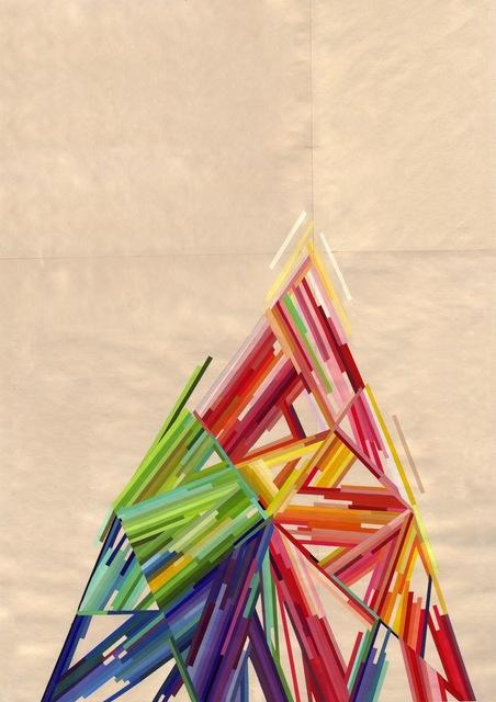 , 'Triangle,' 2012, Muriel Guépin Gallery