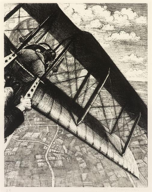, 'Banking at 4000 Feet,' 1917, Osborne Samuel