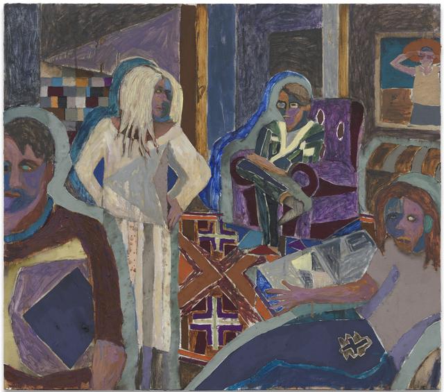 , 'Psychologische Vision,' 2012, Hans Alf Gallery