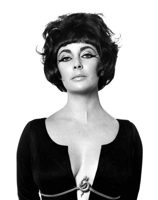 """Bert Stern, 'Elizabeth Taylor as """"Cleopatra"""", Rome', 1962, Photography, Gelatin Silver Print, Staley-Wise Gallery"""
