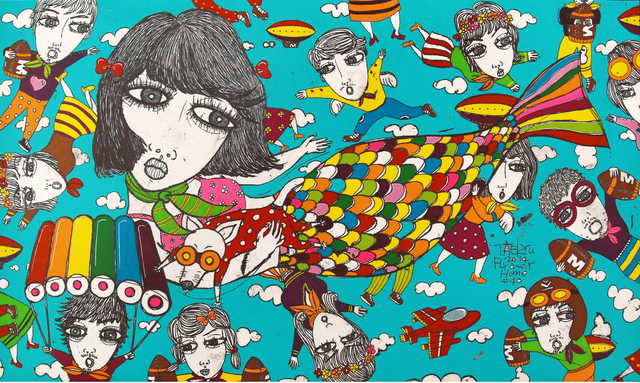 , 'Fly Away Home#40,' 2014, Parkview Green Art