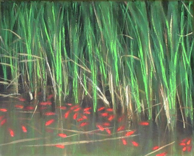Sonya Mahnic, 'Fish in Reeds', 2019, Gallery 78