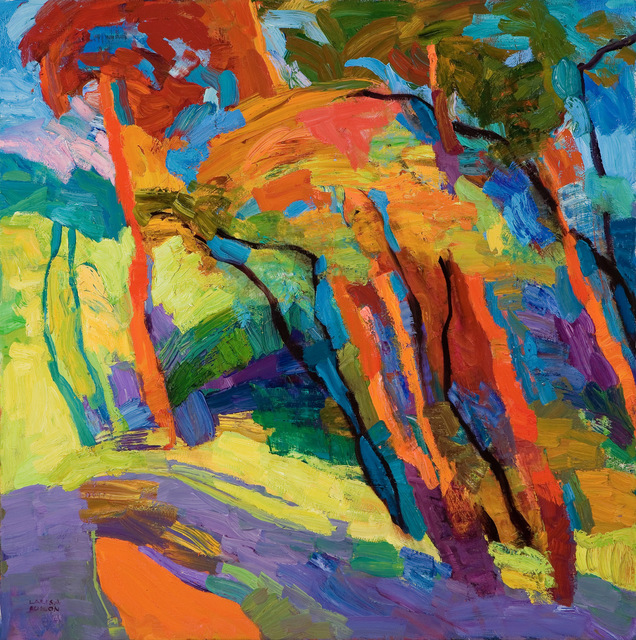 , 'Summer Promises,' 2018, Paul Scott Gallery & galleryrussia.com