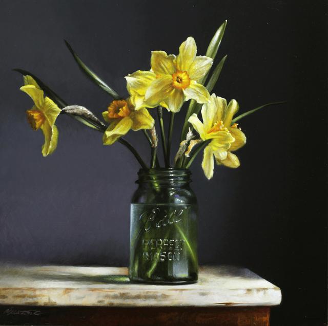 , 'Daffodils,' 2019, William Baczek Fine Arts