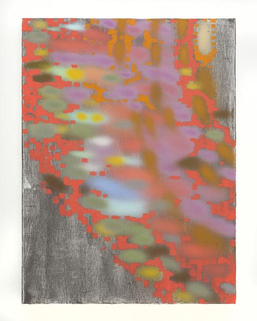 Keltie Ferris, '=)))>>', 2012, Nina Johnson