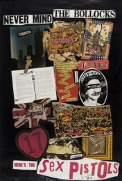 Two U.K Virgin Records Promotional Posters: Never Mind the Bollocks; No One Is Innocent