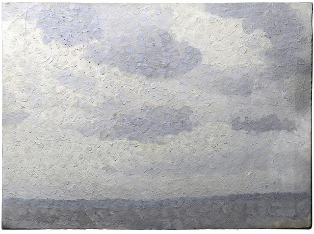 , 'Experimentation pointilliste,' ca. 1888, SERGE PLANTUREUX