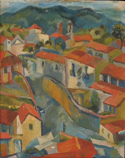 , 'Mexican Houses (Pre-W.P.A. #28) ,' 1939, InLiquid