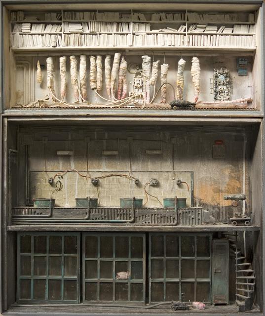 , 'Des peaux d'archives,' 2012, Jonathan LeVine Projects