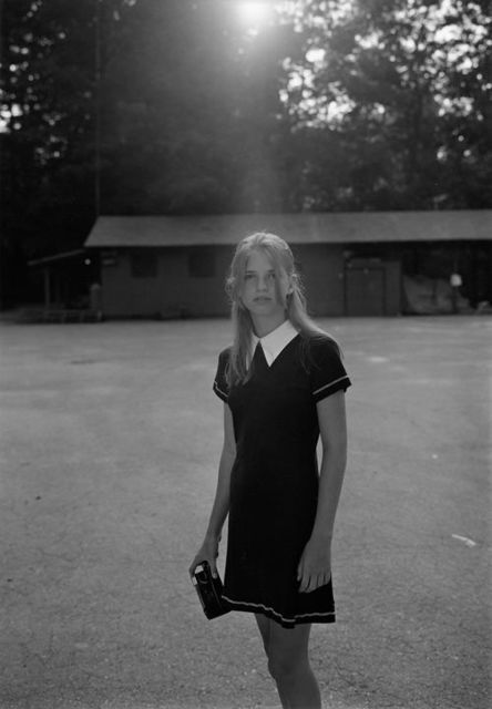 , 'Summer Camp, Hendersonville, NC (girl with camera),' 1995, Yancey Richardson Gallery